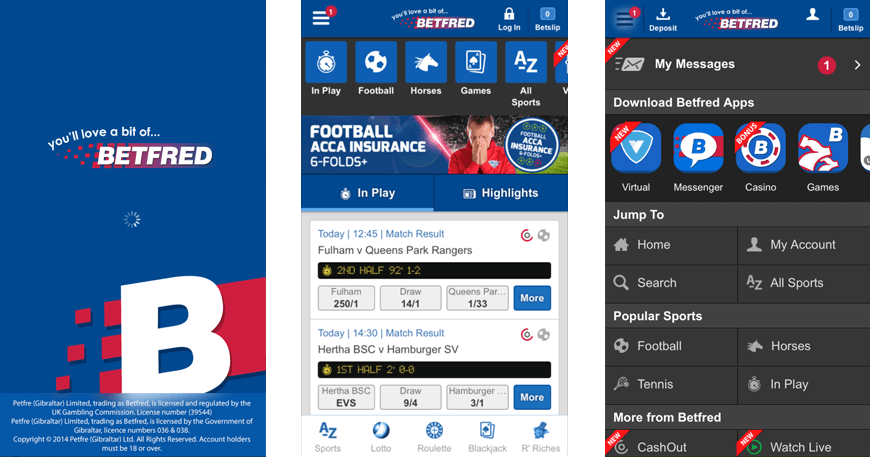 Betfred Betting App