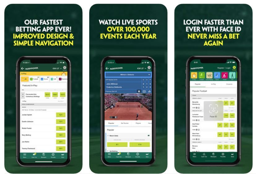Paddy Power Sports Betting Apps